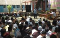 Anggota Polres Pengajian di Al-Hikmah